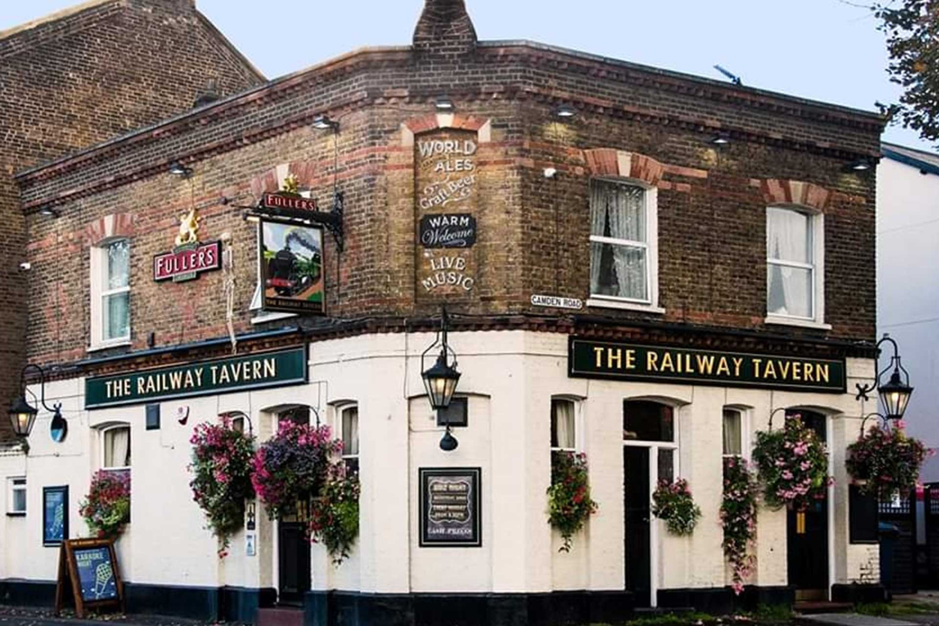 The Railway Tavern Carshalton